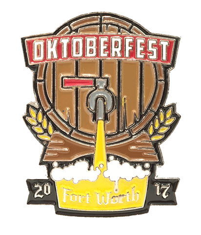 Oktoberfest Fort Worth 2017 Pin