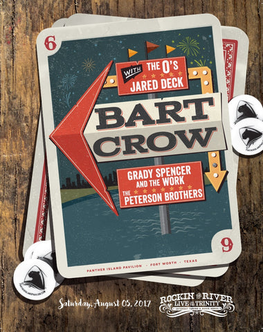 Bart Crow Show Poster
