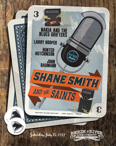 Shane Smith and the Saints Show Poster