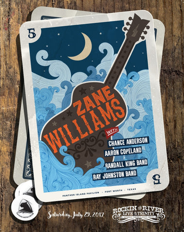 Zane Williams Show Poster