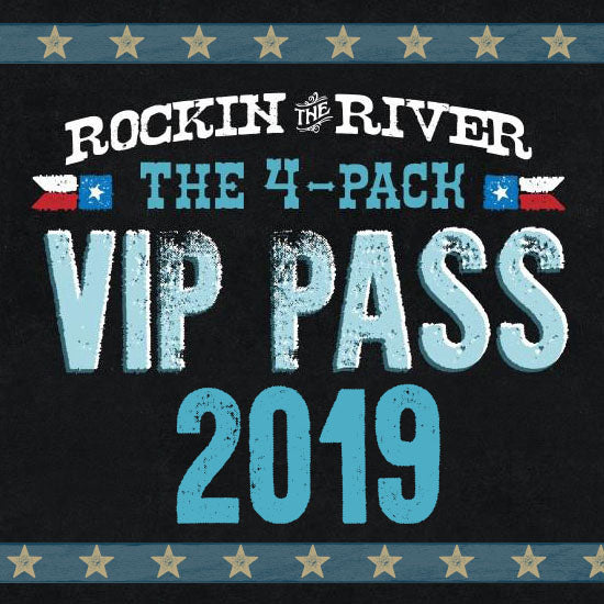 2019 Rockin' the River Series 4-Pack Pass