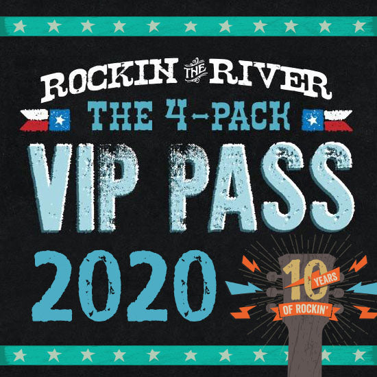 2020 Rockin' the River Series 4-Pack Pass