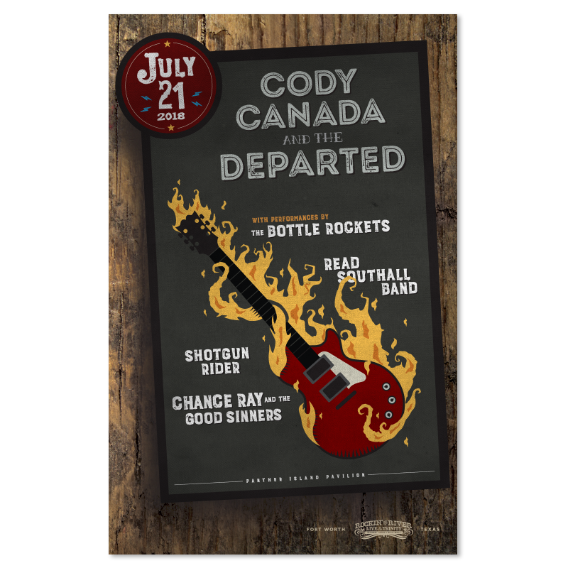 Cody Canada and the Departed Show Poster