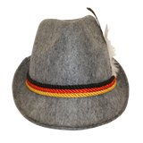 Light Grey Oktoberfest Hat