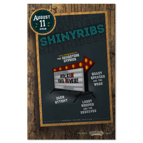 Shinyribs Show Poster