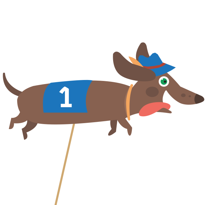 Dachshund Races Entry Fee