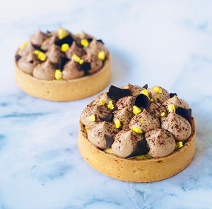 Passion Fruit Milk Chocolate Tarte