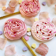 Load image into Gallery viewer, Rose Shaped Meringue Pop