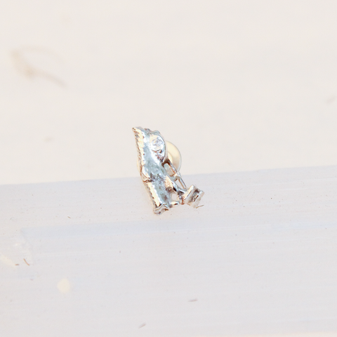 Eco Silver Single Stud (C)