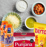 The Ultimate Student Meal Kit featuring Tayto/Sukie/Punjana