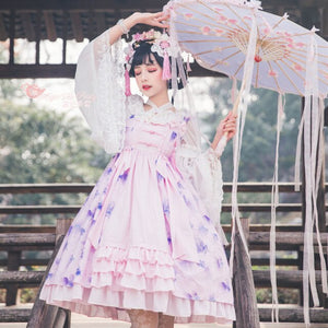 Fish in Dream ~ 2020 New Qi Style Lolita JSK Dress by Magic Tea Party