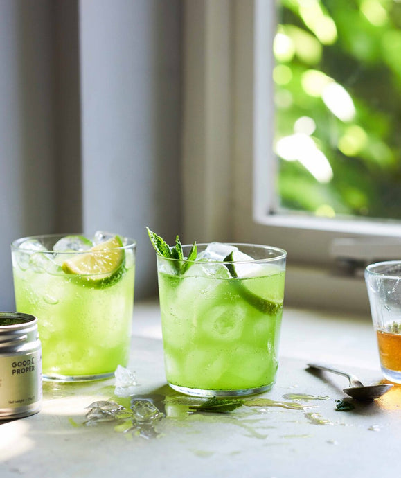 How to Make a Matcha Lime Cooler