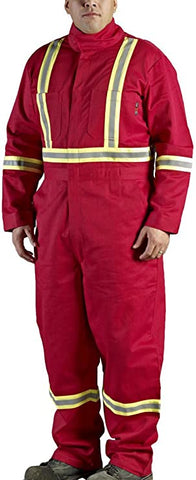 Marv Holland Red FR Insulated Coveralls