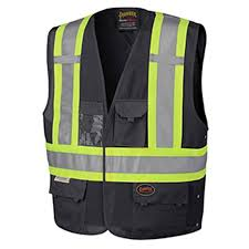 Pioneer - Hi-Viz Safety Vest Adjustable Size