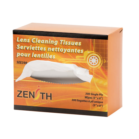 Zenith Safety Products - Lens Cleaning Tissues