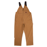 Tough Duck - Zip Front Unlined Bib Overall