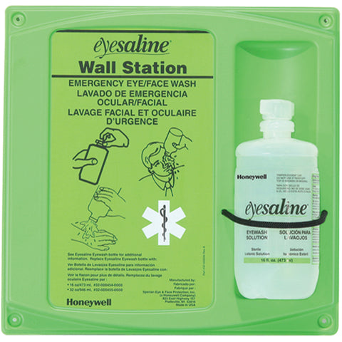 Honeywell -  Saline Eyewash Wall Station