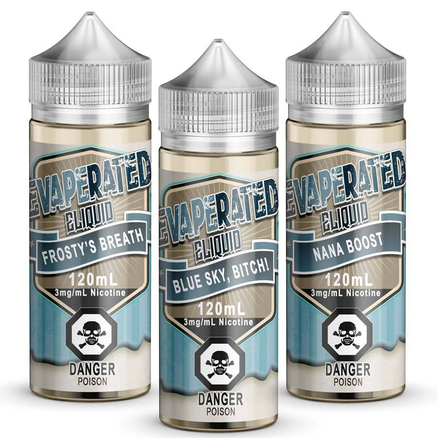 5x120ml Variety Pack - Evaperated