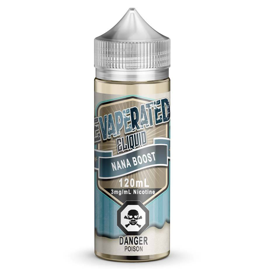 Nana Boost Canadian Eliquid, Ejuice, E Juice, E Liquid, Canadian EJuice, Canadian E-Liquid, Vaping, Vape