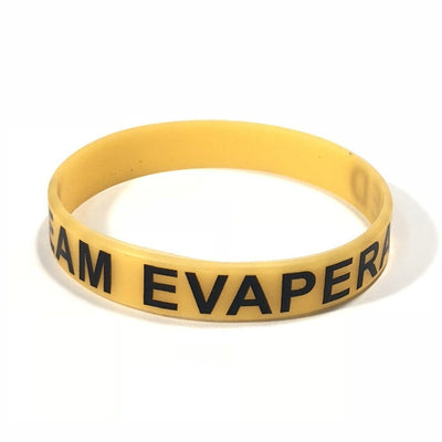 Branded Glow in the dark Wristband - Evaperated