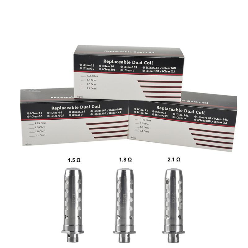 iTaste 30S Replacement Dual Coils - Evaperated