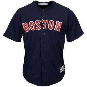 CAMISETA MAJESTIC BOSTON RED SOX - AZUL / ROJO