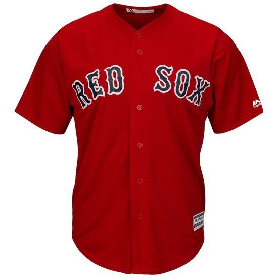 CAMISETA MAJESTIC BOSTON RED SOX - ROJO / AZUL