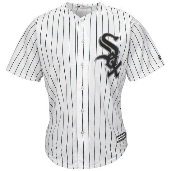 CAMISETA MAJESTIC CHICAGO WHITE SOX - BLANCO / NEGRO