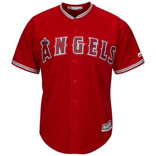 CAMISETA MAJESTIC LOS ANGELES ANGELS - ROJO