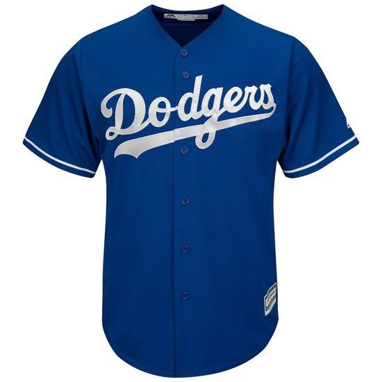 CAMISETA MAJESTIC LOS ANGELES DODGERS - AZUL / BLANCO