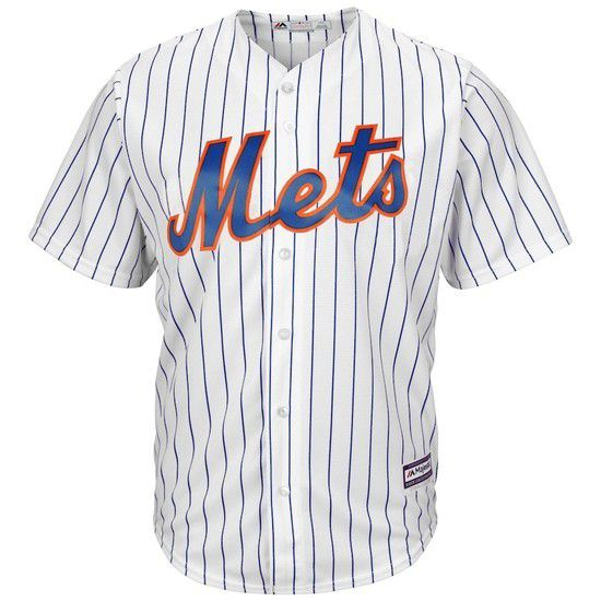CAMISETA MAJESTIC NEW YORK METS - BLANCO / AZUL