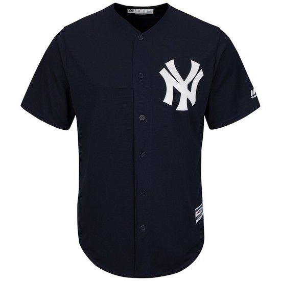 CAMISETA MAJESTIC NEW YORK YANKEES - AZUL / BLANCO