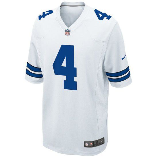 CAMISETA DE FÚTBOL NIKE DALLAS COWBOYS - BLANCO / AZUL
