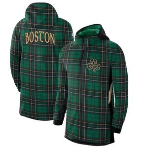 "CHAQUETA NIKE BOSTON CELTICS ""CITY EDITION"" AUTHENTIC SHOWTIME THERMA FLEX"