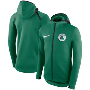 SUDADERA NIKE BOSTON CELTICS SHOWTIME THERMA FLEX