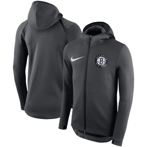 SUDADERA NIKE BROOKLYN NETS SHOWTIME THERMA FLEX
