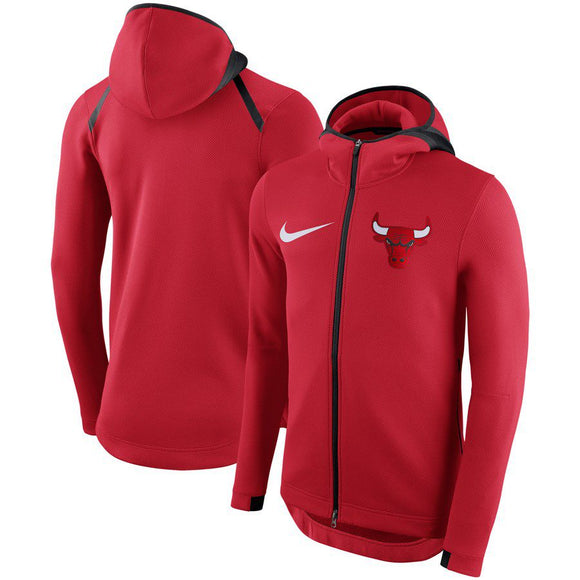 SUDADERA NIKE CHICAGO BULLS SHOWTIME THERMA FLEX