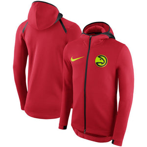 SUDADERA NIKE ATLANTA HAWKS SHOWTIME THERMA FLEX