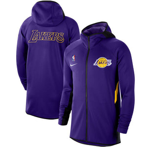 SUDADERA NIKE LOS ANGELES LAKERS AUTHENTIC SHOWTIME THERMA FLEX