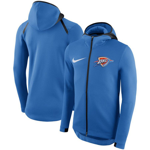 SUDADERA NIKE OKLAHOMA CITY THUNDER SHOWTIME THERMA FLEX