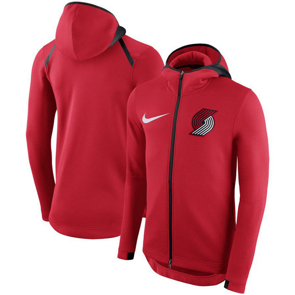 SUDADERA NIKE PORTLAND TRAIL BLAZERS SHOWTIME THERMA FLEX