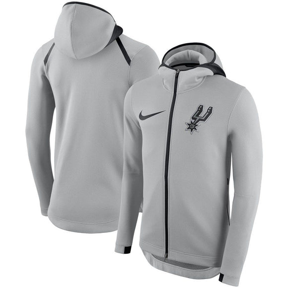SUDADERA NIKE SAN ANTONIO SPURS SHOWTIME THERMA FLEX