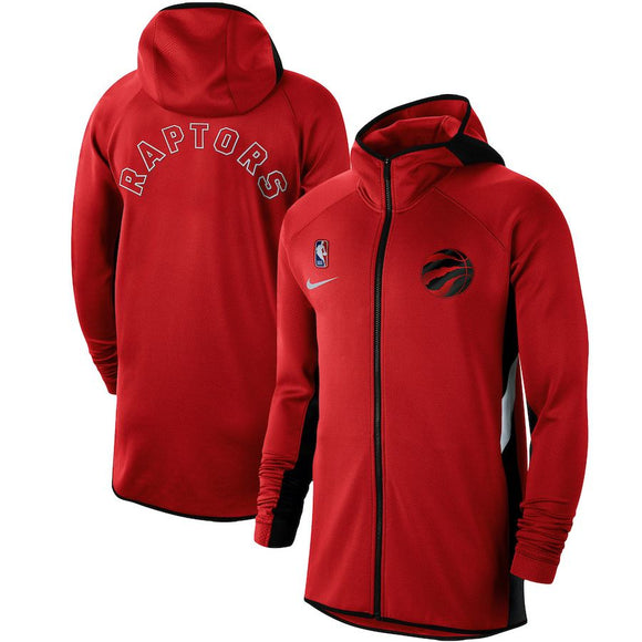 SUDADERA NIKE TORONTO RAPTORS AUTHENTIC SHOWTIME THERMA FLEX