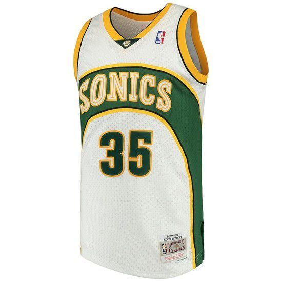 CAMISETA MITCHELL & NESS SEATLE SUPERSONICS SWINGMAN CLASSIC TANK - BLANCO