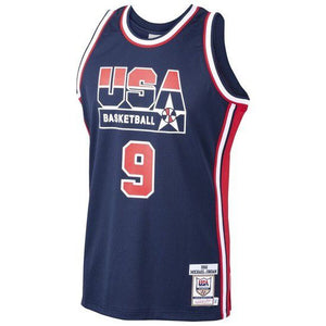 "CAMISETA MITCHELL & NESS USA BASKETBALL 1992 ""DREAM TEAM"" - AZUL"
