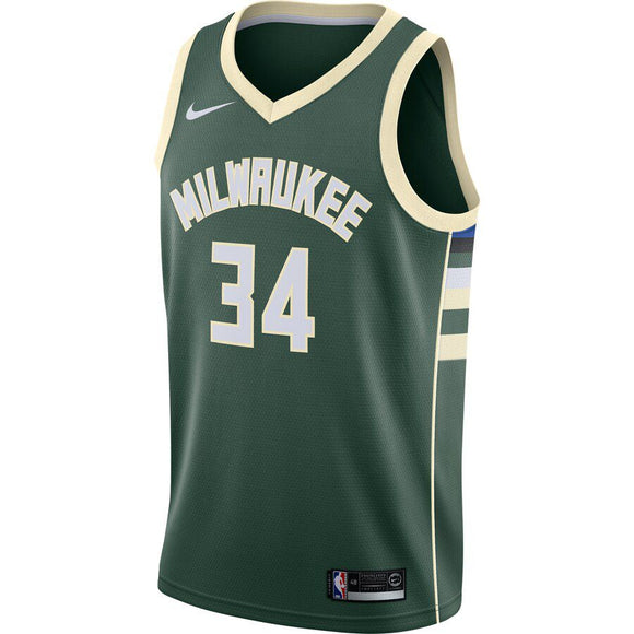 CAMISETA NIKE MILWAUKEE BUCKS ICON EDITION 2019/20 SWINGMAN