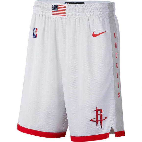 SHORT NIKE HOUSTON ROCKETS CITY EDITION SWINGMAN MASCULINO
