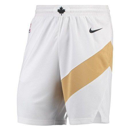 SHORT NIKE TORONTO RAPTORS CITY EDITION SWINGMAN - BLANCO