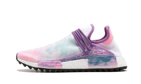 ZAPATILLAS ADIDAS PHARRELL WILLIAMS HU HOLI NMD - ROSA / MULTICOLOR