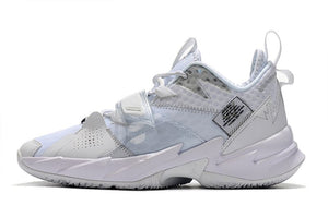 "ZAPATILLAS JORDAN WHY NOT ZER0.3 ""TRIPLE WHITE"" HOMBRE"